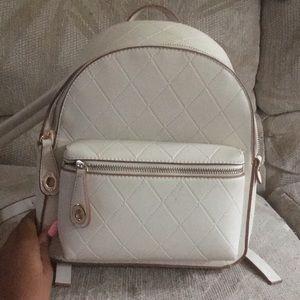 White Zara book bag